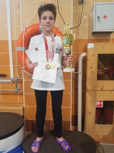 Поздравляем победителей и призеров «Кубка города Москвы» по плаванию среди мальчиков и девочек I этап 3-4 февраля 2021 г. (2-ой день)