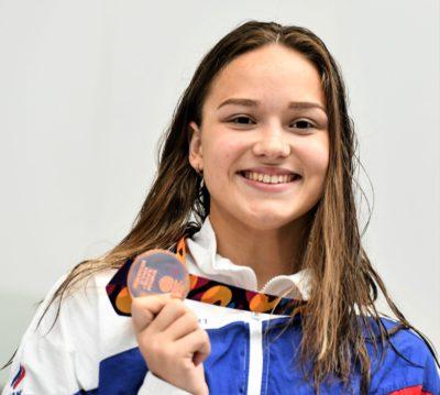 Поздравляем победительницу и неоднократную призёрку Европейского юношеского Олимпийского летнего фестиваля!