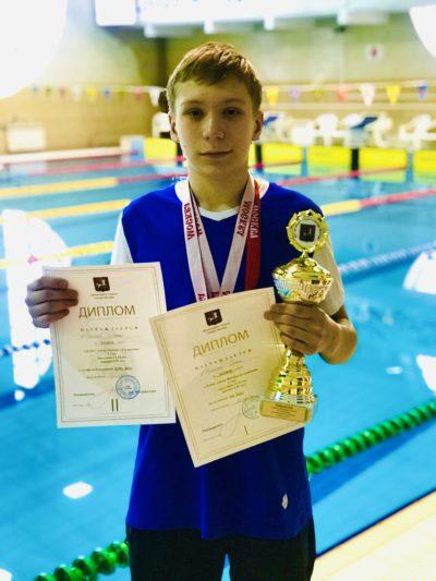 Поздравляем Победителя и Призеров II этапа Кубка Города Москвы по плаванию среди младшего возраста!