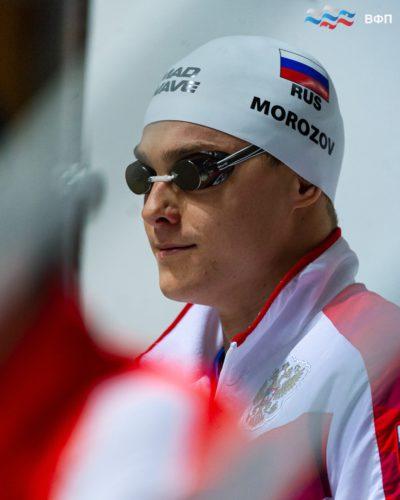 Поздравляем Владимира Морозова с победой и серебряной медалью на первом этапе FINA Champions Swim Series!