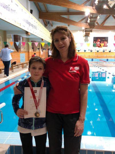 Поздравляем победителей и призеров «Кубка города Москвы» по плаванию среди мальчиков и девочек I этап 3-4 февраля 2021 г.