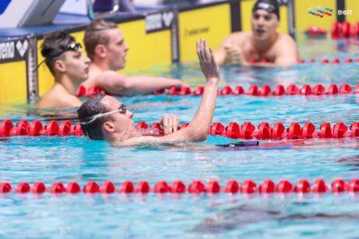 2-й и 3-й день Чемпионата России по плаванию 2019 г.