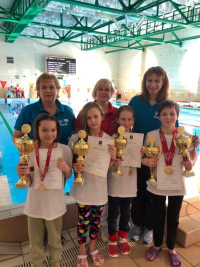 Поздравляем победителей и призеров «Кубка города Москвы» по плаванию среди мальчиков и девочек II этап 3-4 марта 2021 г.