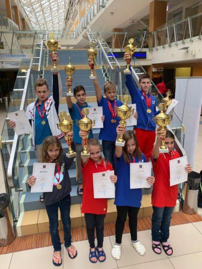 Поздравляем Победителей и призеров первых двух дней Финала Кубка города Москвы по плаванию среди юношей 2006-2007 г.р. и девушек 2008-2009 г.р.