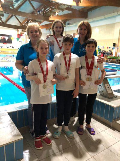 Поздравляем призеров 1-го дня III этапа Кубка города Москвы по плаванию