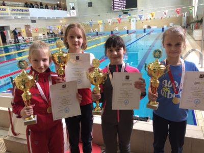 Поздравляем спортсменов нашей школы с выступлением на II этапе Кубка города Москвы по плаванию